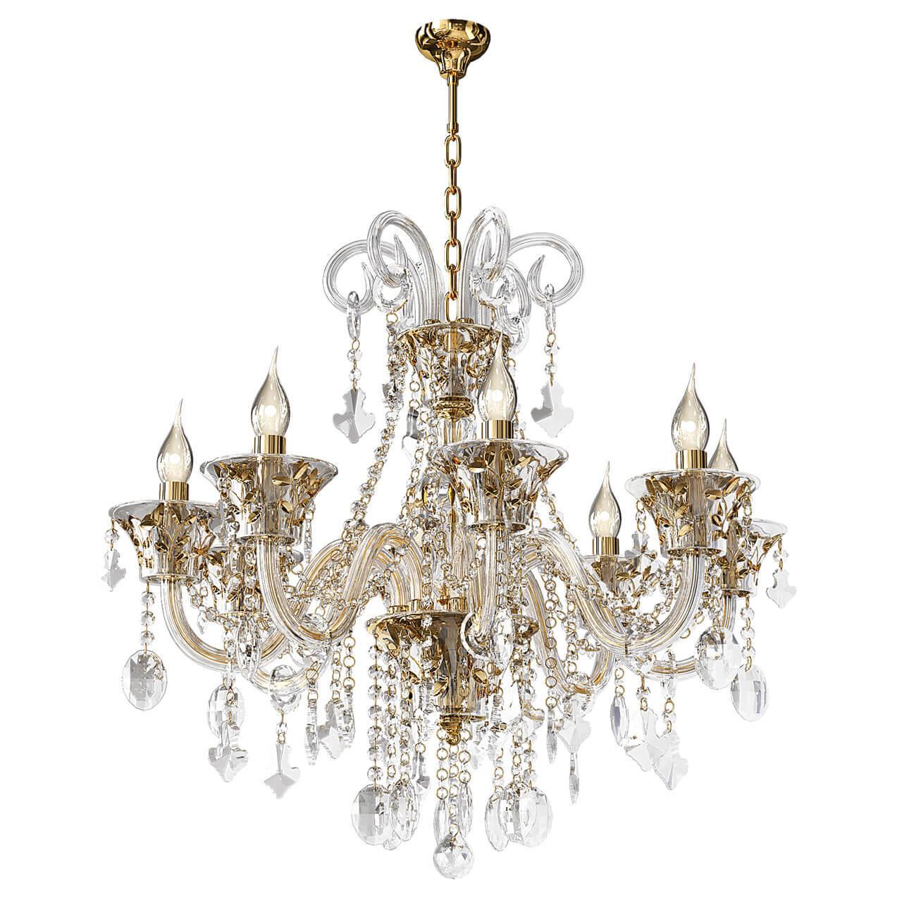 Подвесная люстра Osgona Tesoro 710082 osgona настольная лампа декоративная osgona tesoro 710952