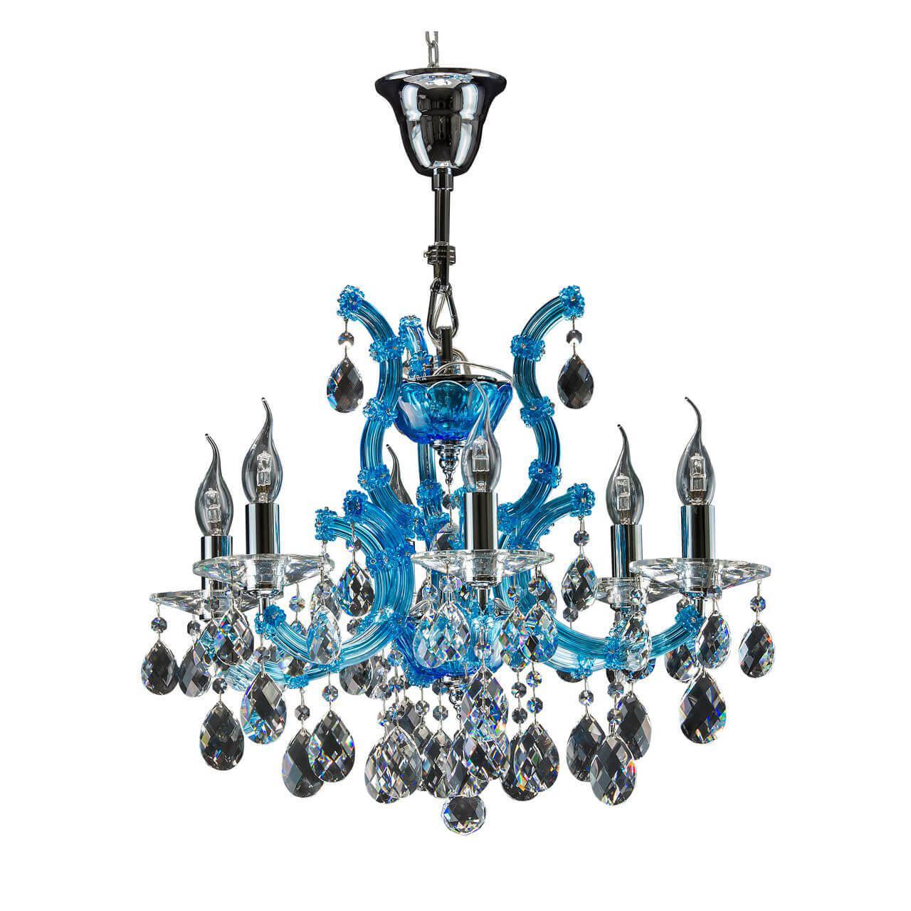 Подвесная люстра Osgona Champa Blu 698065 цена