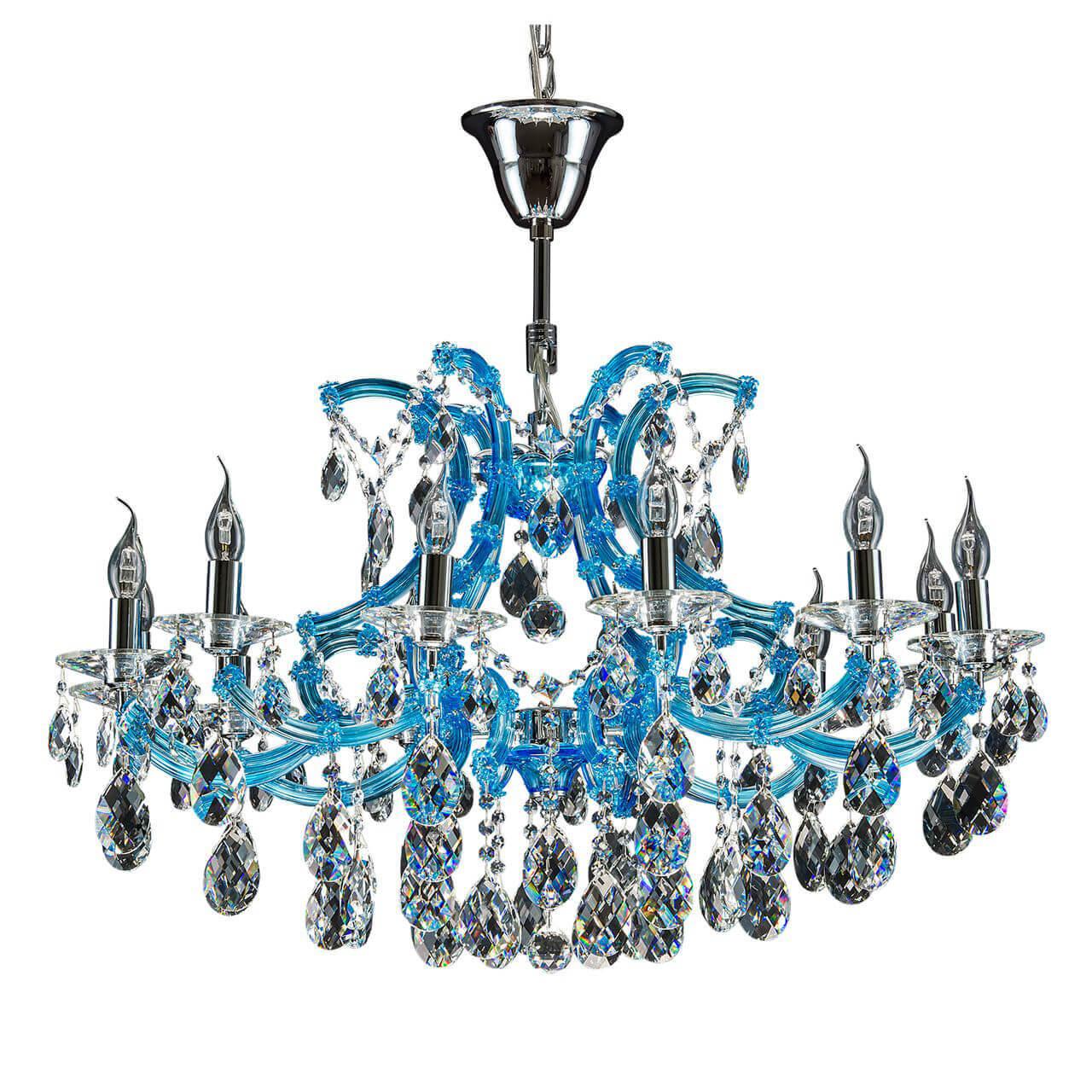 Подвесная люстра Osgona Champa Blu 698125 цена
