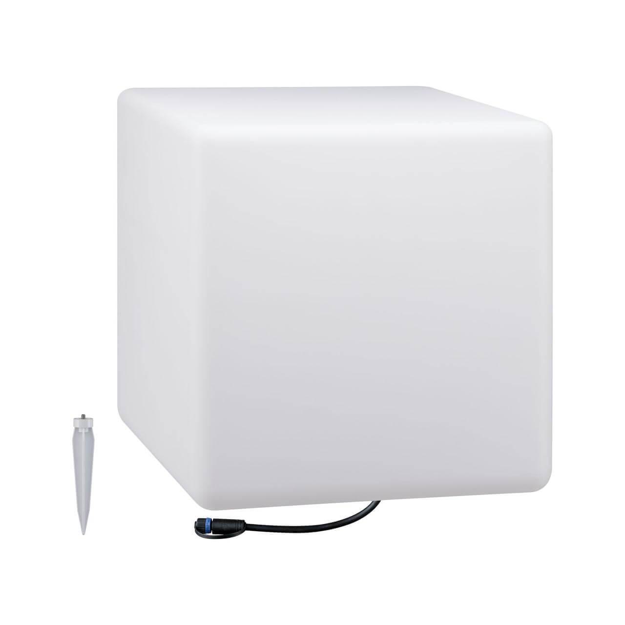 Уличный светодиодный светильник Paulmann Lichtobjekt Cube 94182 недорого