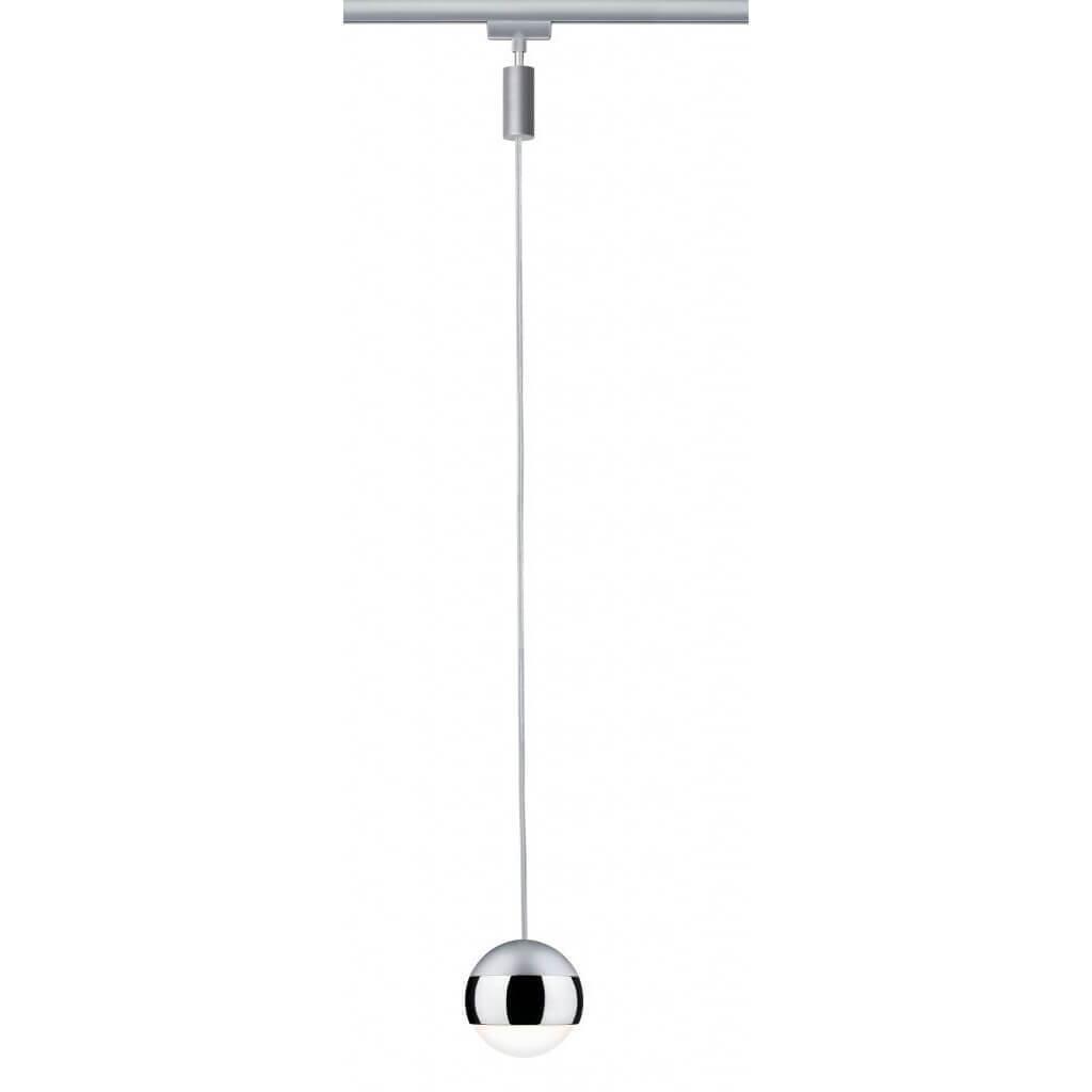 Трековый светодиодный светильник Paulmann URail CapsuleII 95457 трековый светодиодный светильник paulmann urail capsuleii 95456