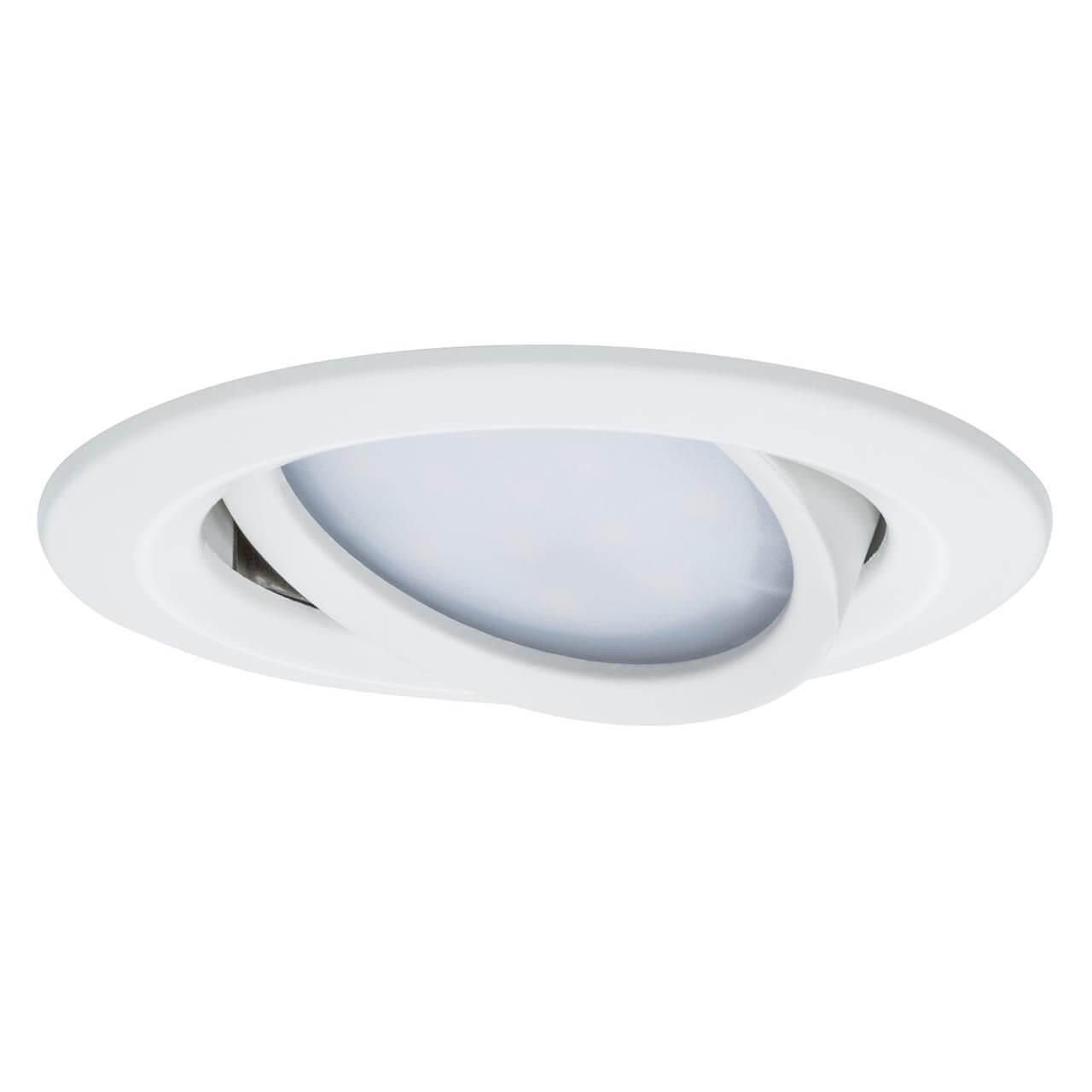 Встраиваемый светодиодный светильник Paulmann Premium Slim Coin 93876