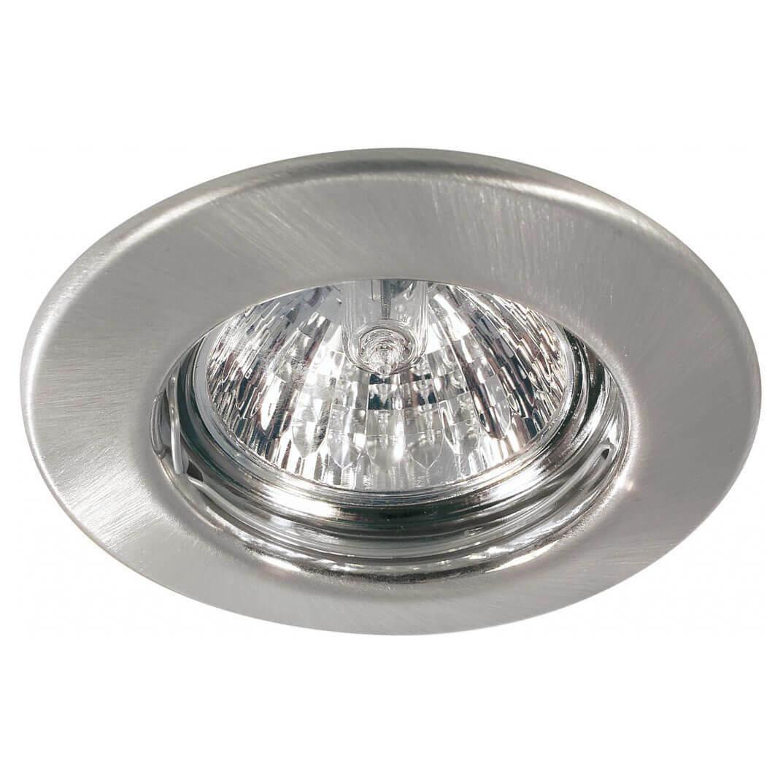 Встраиваемый светильник Paulmann Quality Line Halogen 98927 спот встраиваемый поворотный power light 6216 1 4sch цоколь gu5 3 50 вт цвет матовый хром