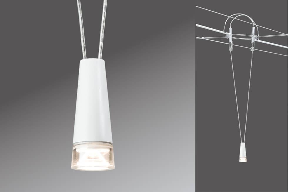 Струнный светодиодный светильник Paulmann AirLed Drum 94104 все цены