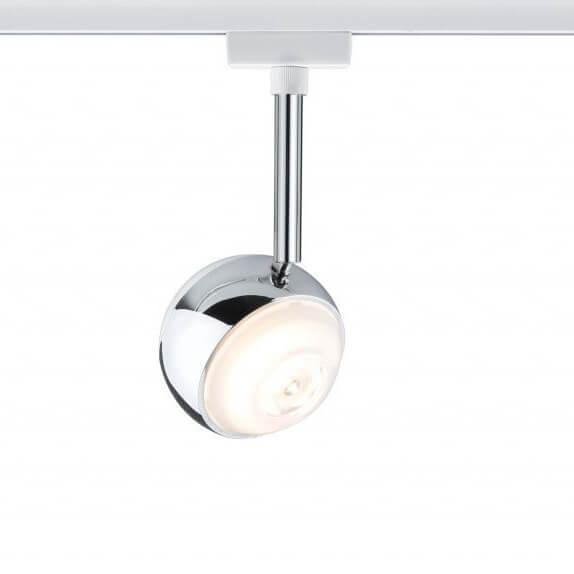 Трековый светодиодный светильник Paulmann URail CapsuleII 95456 трековый светодиодный светильник paulmann urail capsuleii 95456