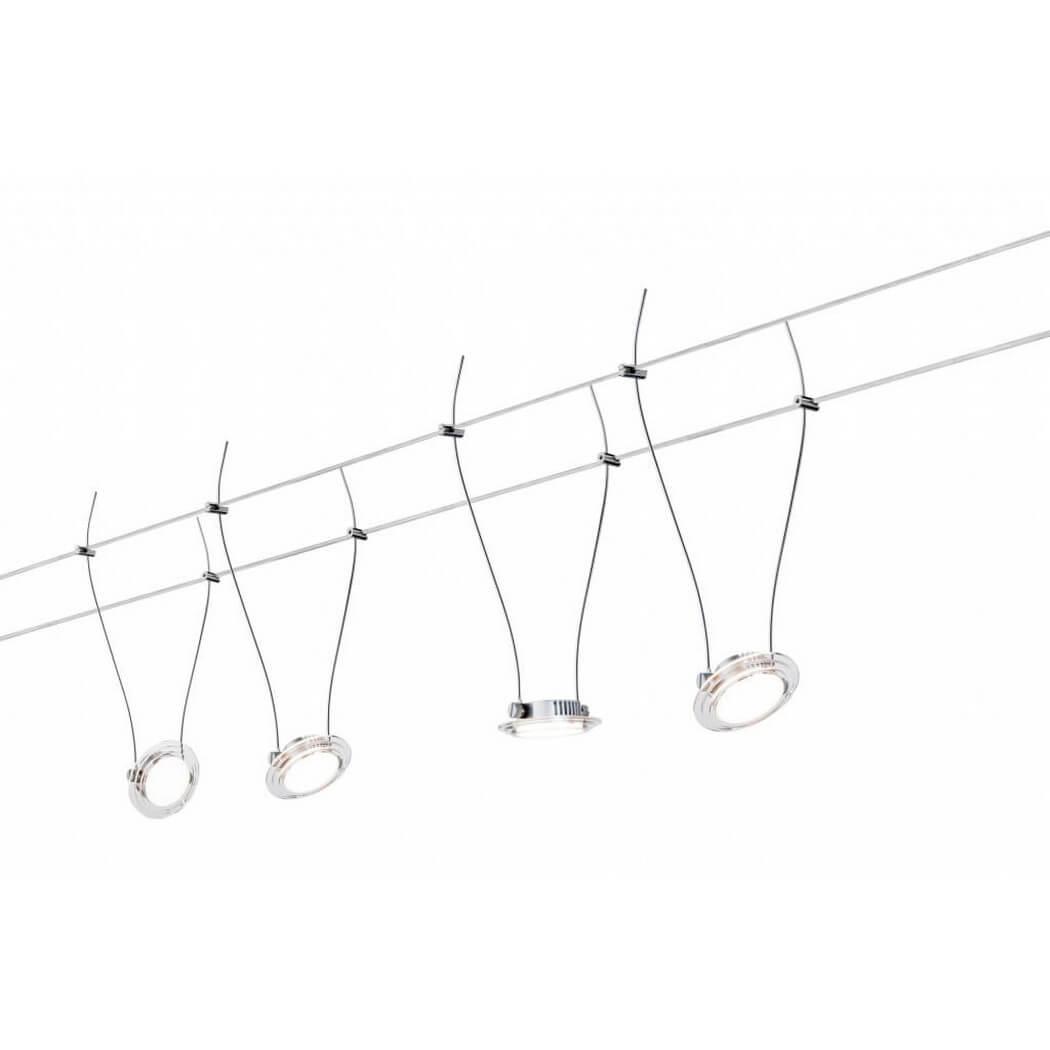 Струнная светодиодная система Paulmann Twist Coin 94116 цены