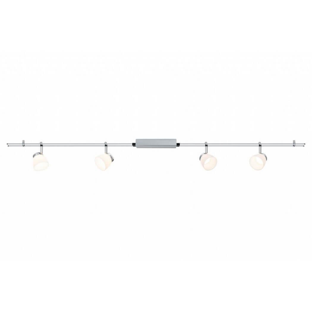 Трековая система Paulmann 95196 GlassLed nicerdicer chrome складные шкаф вешалка 5в1 95196