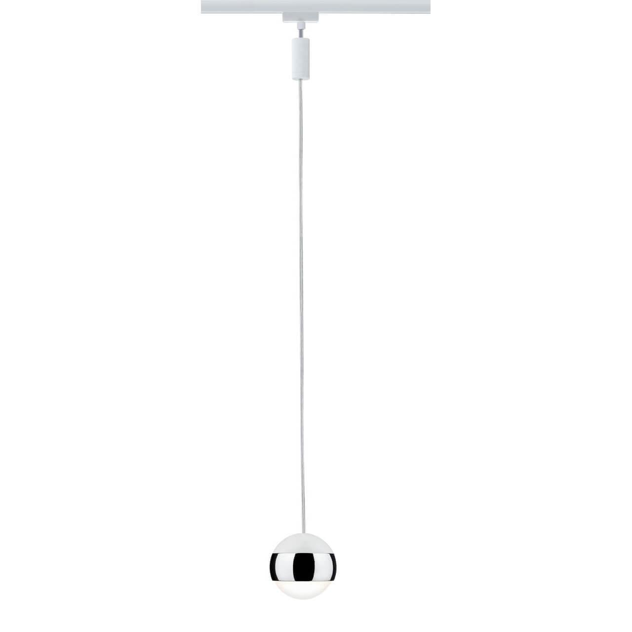 Трековый светодиодный светильник Paulmann URail CapsuleII 95458 трековый светодиодный светильник paulmann urail capsuleii 95456