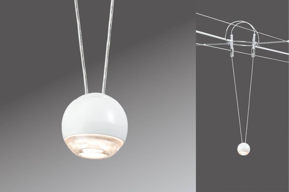 Струнный светодиодный светильник Paulmann AirLed Ball 94103 все цены