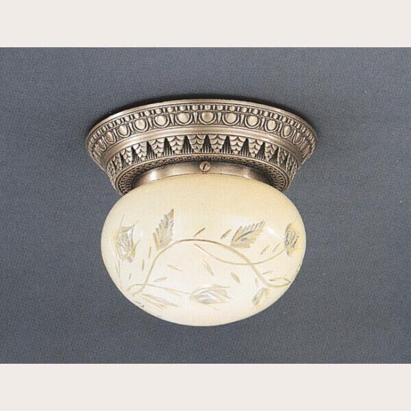 Потолочный светильник Reccagni Angelo PL 7722/1 le vele 1 5 сп gullu 7722