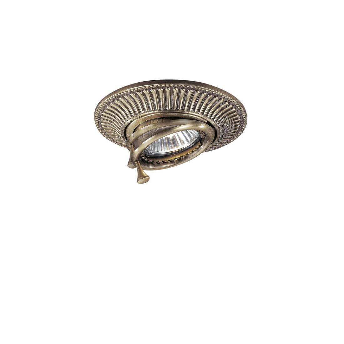 Встраиваемый светильник Reccagni Angelo SPOT 1082 bronzo