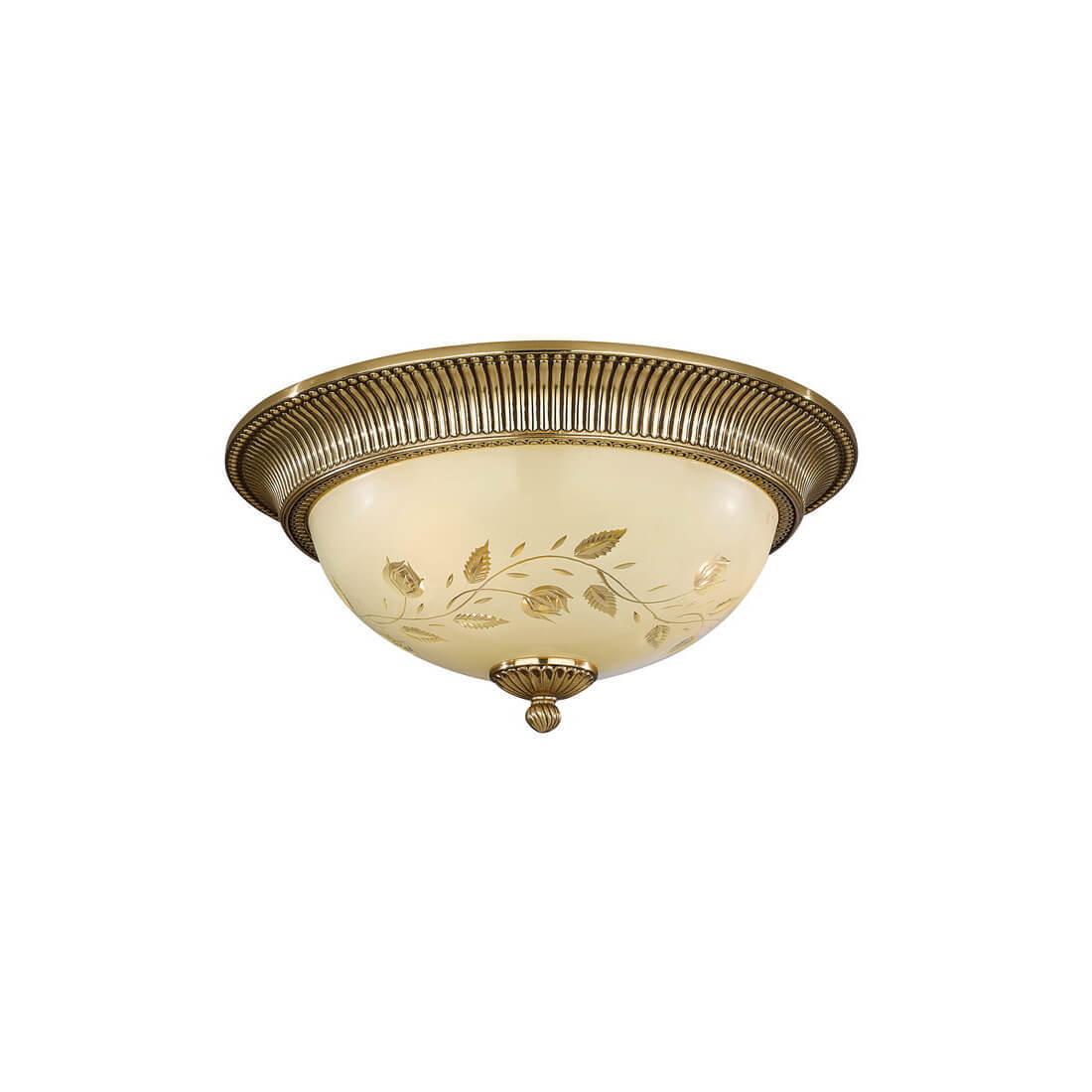Потолочный светильник Reccagni Angelo PL 6308/3 бра reccagni angelo verde 6308 a 6308 2