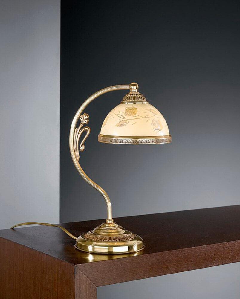 Настольная лампа Reccagni Angelo P 6308 P бра reccagni angelo verde 6308 a 6308 2