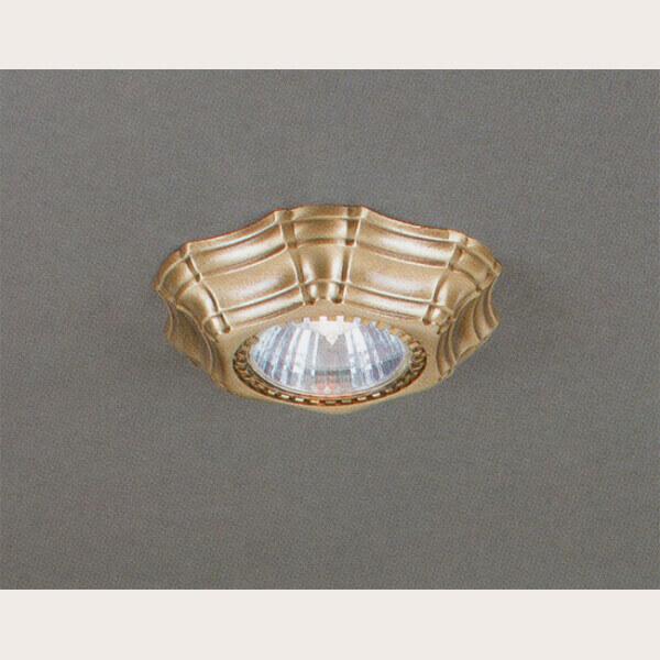 Встраиваемый светильник Reccagni Angelo SPOT 1096 Oro
