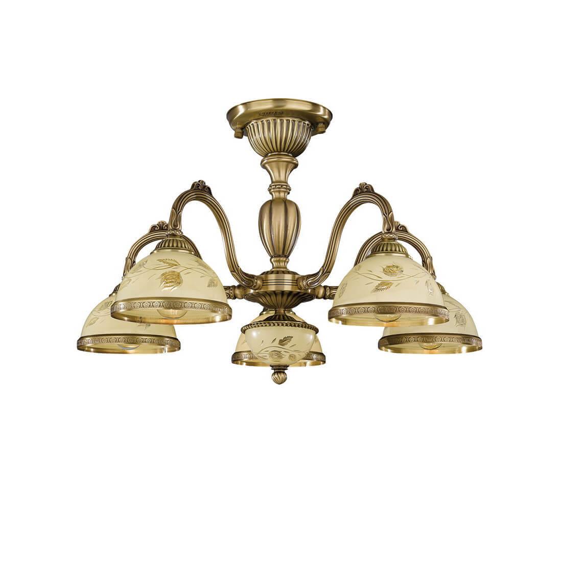 Потолочная люстра Reccagni Angelo PL 6228/5 потолочная люстра reccagni angelo pl 6228 5