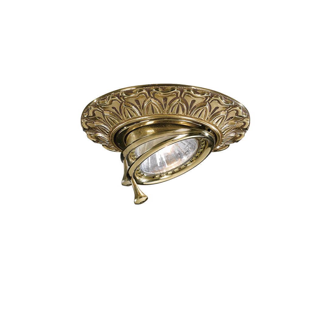 Встраиваемый светильник Reccagni Angelo SPOT 1085 ORO