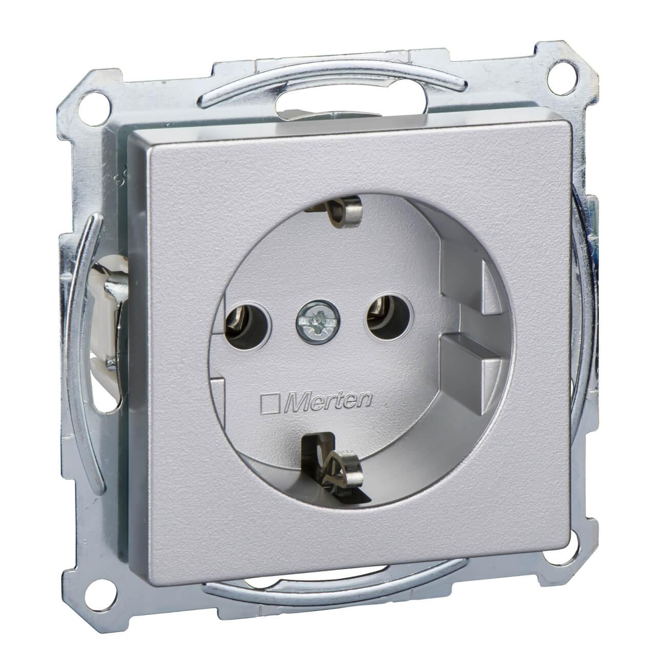 Розетка Schneider Electric MTN2301-0460 Merten M-Plan фото