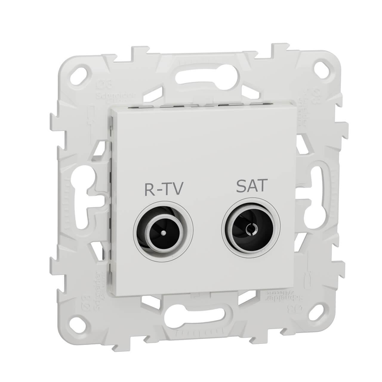 Розетка R-TV/SAT одиночная Schneider Electric Unica New NU545418