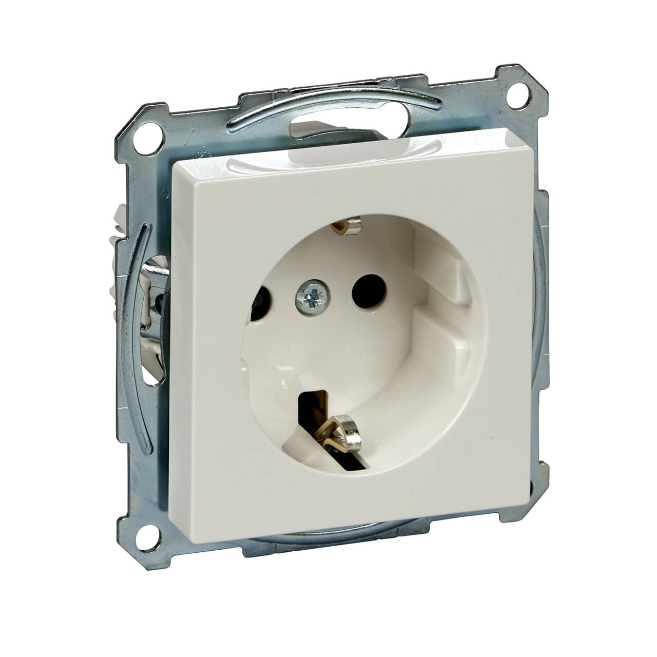 Фото - Розетка Schneider Electric MTN2300-0319 Merten System M розетка schneider electric merten system m с з и шторками mtn2300 0319