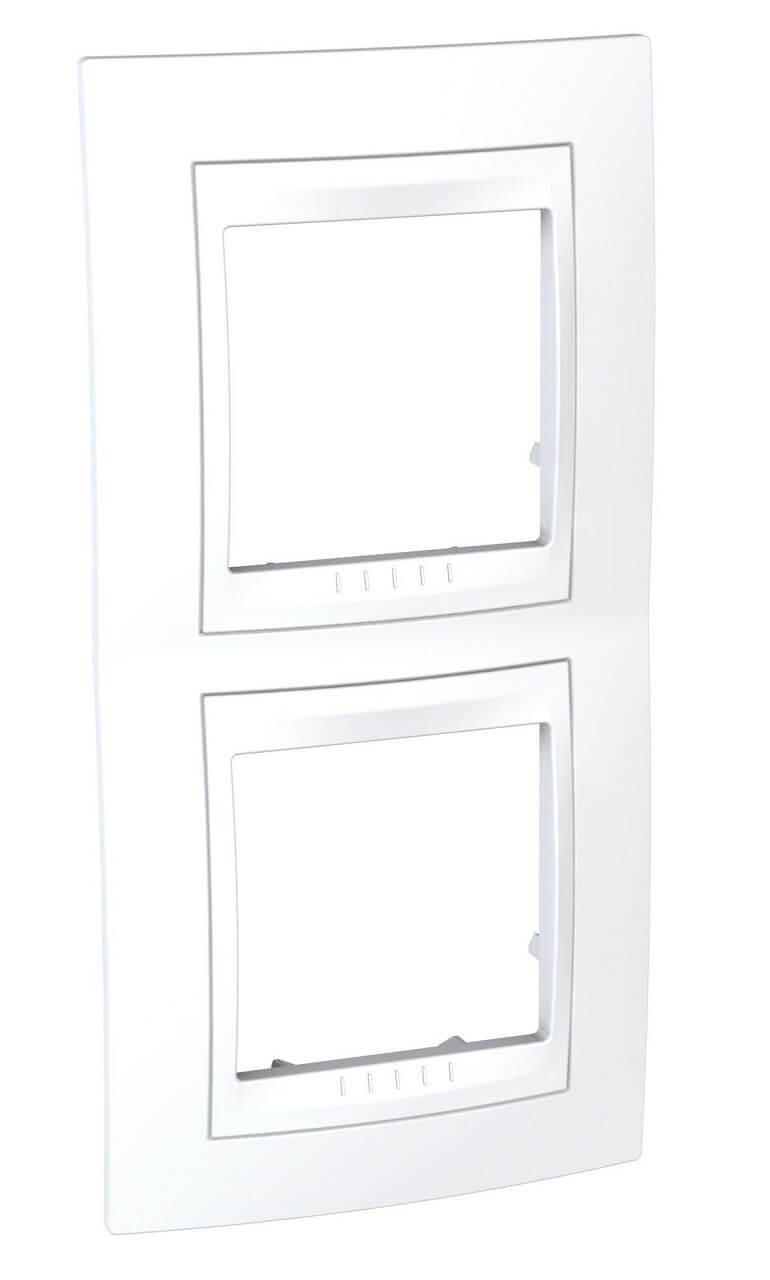 Рамка Schneider Electric MGU6.004V.18 Unica Хамелеон (Подходит под механизмы Unica, Хамелеон, Quadro)