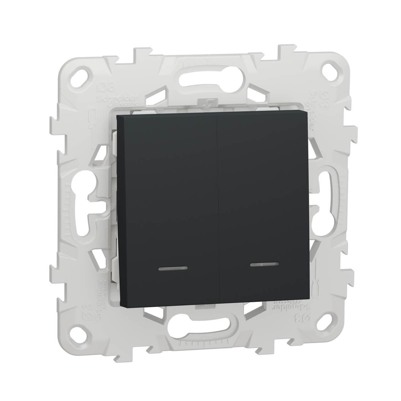 Выключатель Schneider Electric NU521154N Unica New фото