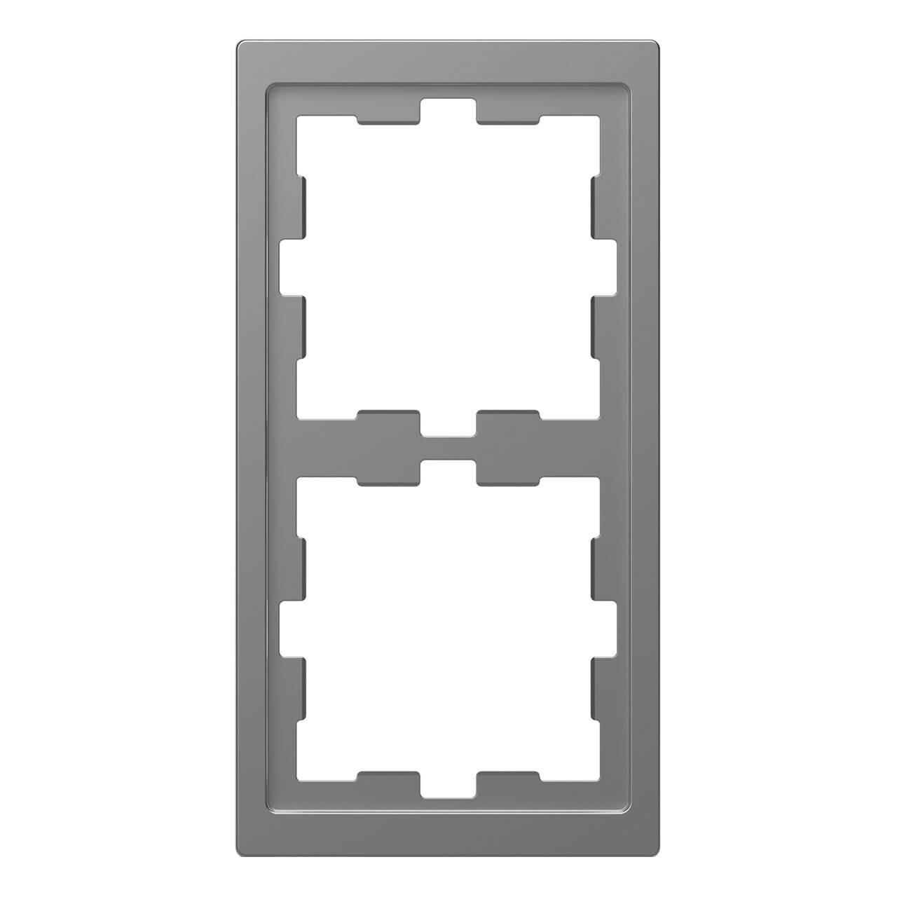 Рамка 2-постовая Schneider Electric Merten D-Life MTN4020-6536 амортизатор ленточный superband perform better 6536
