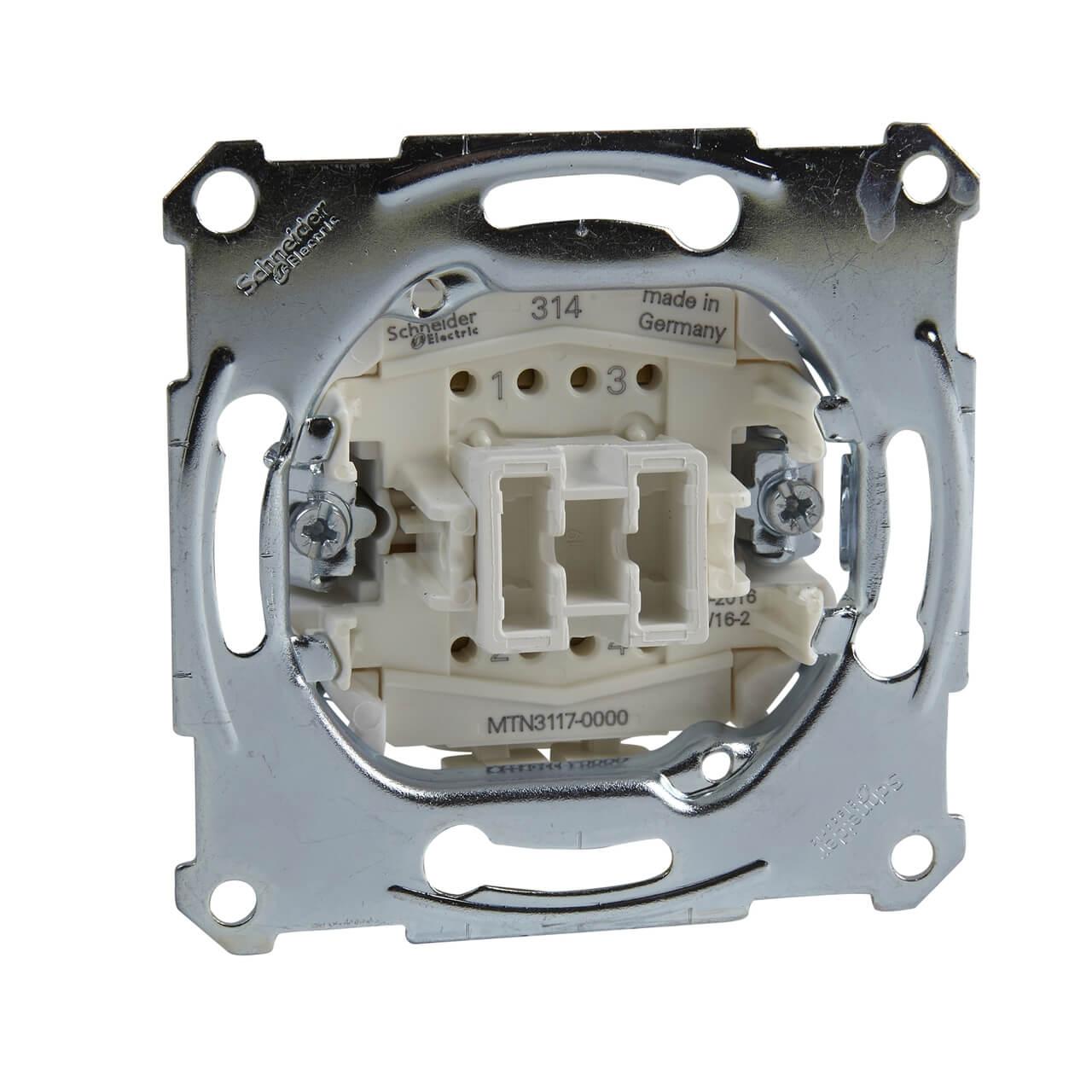 Переключатель Schneider Electric MTN3117-0000 Merten Aquadesign