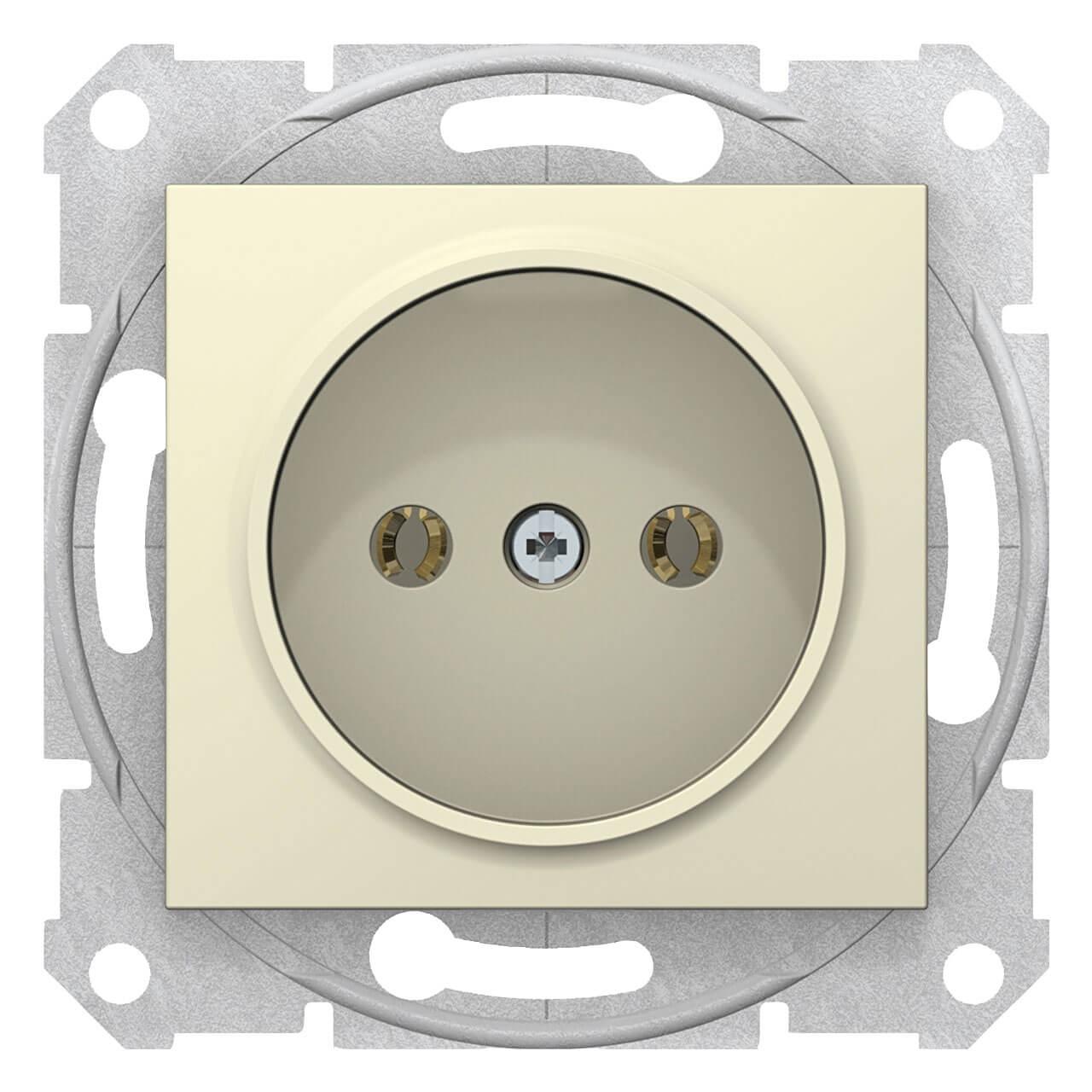 Розетка Schneider Electric Sedna без з/к без шторок 16A 250V SDN2900247