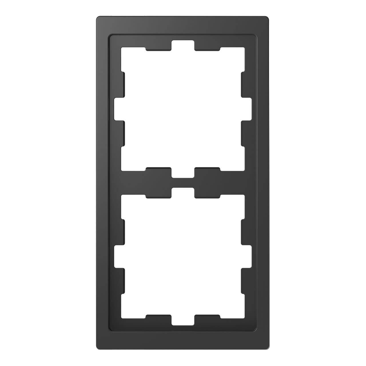 Рамка 2-постовая Schneider Electric Merten D-Life MTN4020-6534 декоративные украшения cornucopia jbp 6534