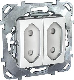 Розетка Schneider Electric MGU5.3131.18ZD Unica (Подходит под рамки Unica, Хамелеон, Quadro) фото