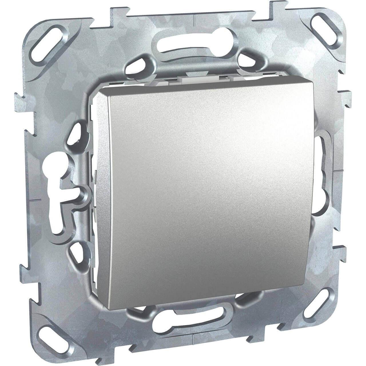Переключатель одноклавишный Schneider Electric Unica 10AX 250V MGU5.203.30ZD