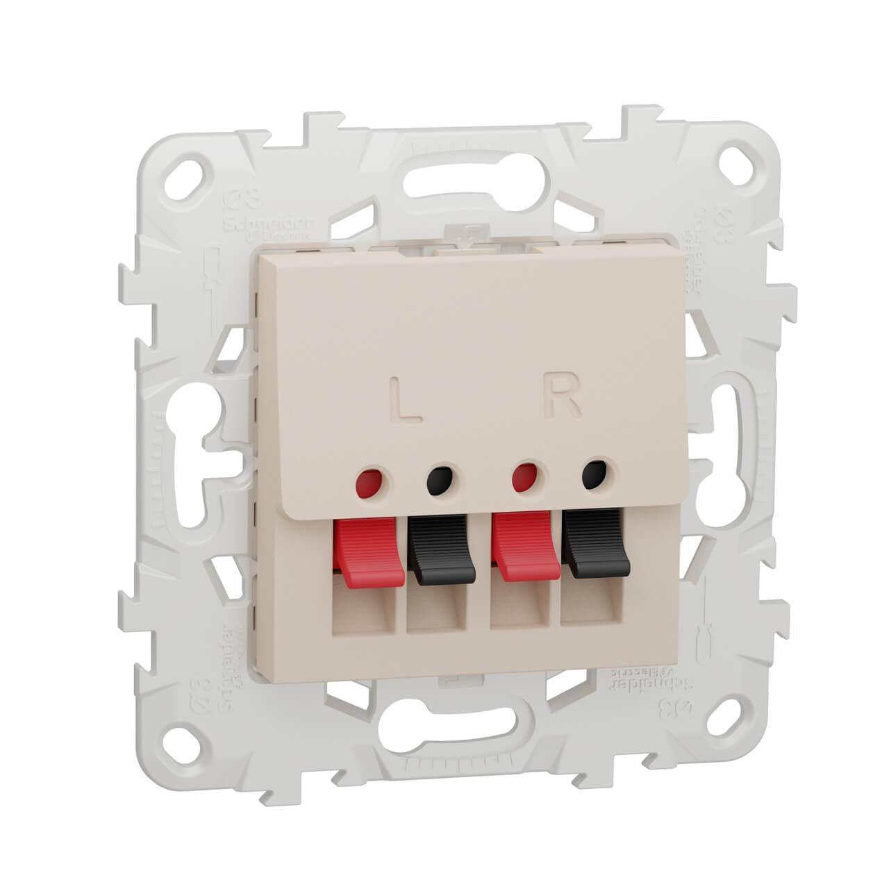 цена на Аудиорозетка Schneider Electric Unica New NU548644