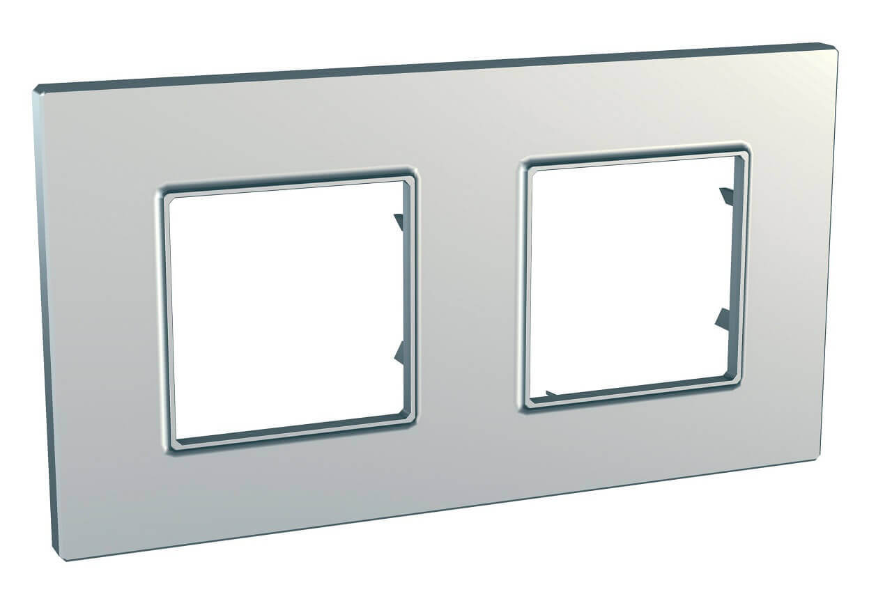 Рамка Schneider Electric MGU6.704.55 Unica Quadro (Подходит под механизмы Unica, Хамелеон, Quadro)