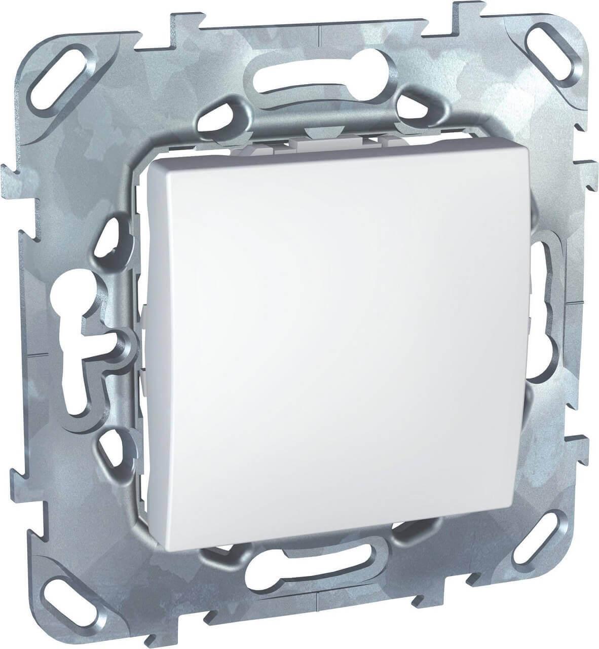 Переключатель одноклавишный Schneider Electric Unica 10AX 250V MGU5.203.18ZD