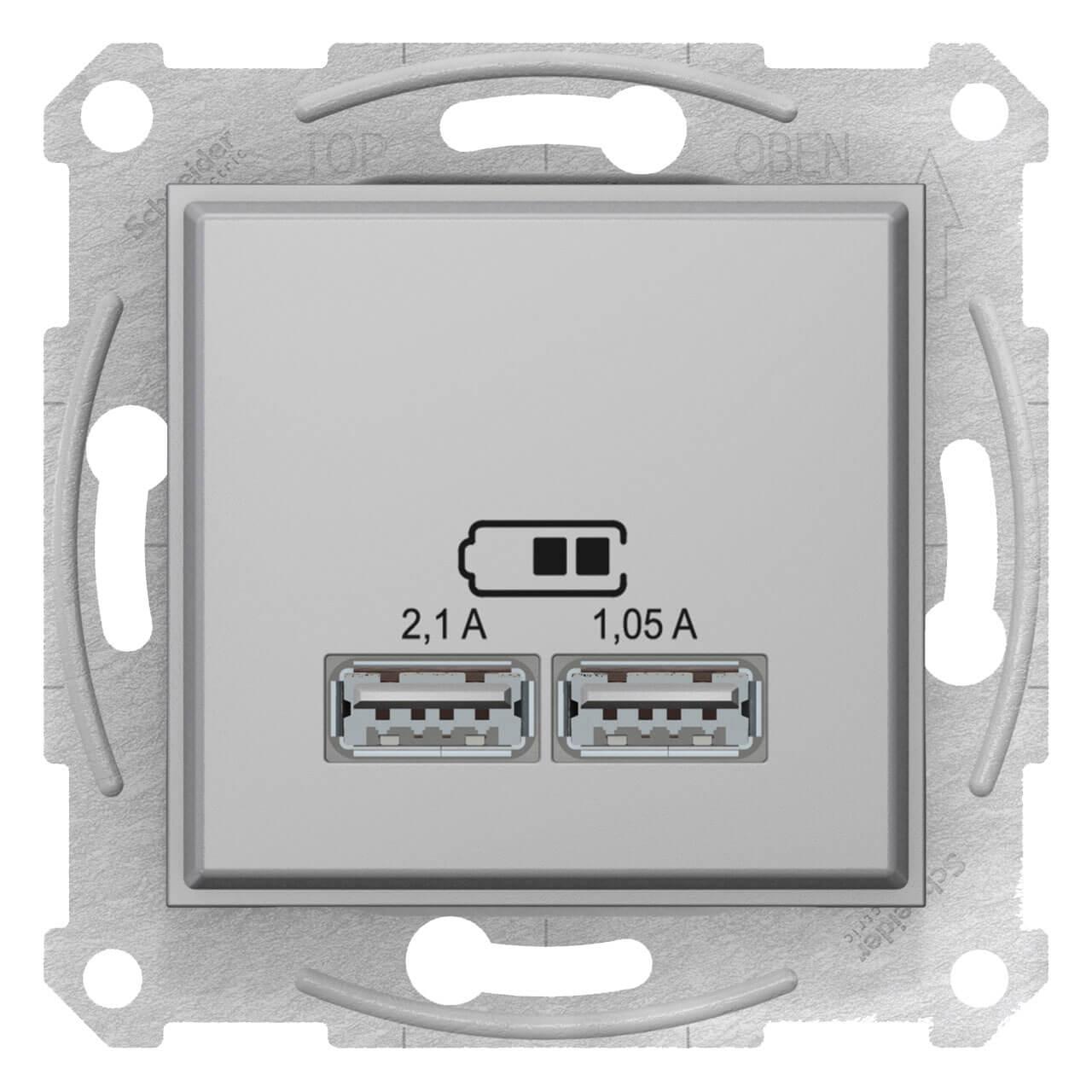 Розетка Schneider Electric SDN2710260 Sedna schneider se sedna графит tv sat розетка проходная 8db sdn3401270