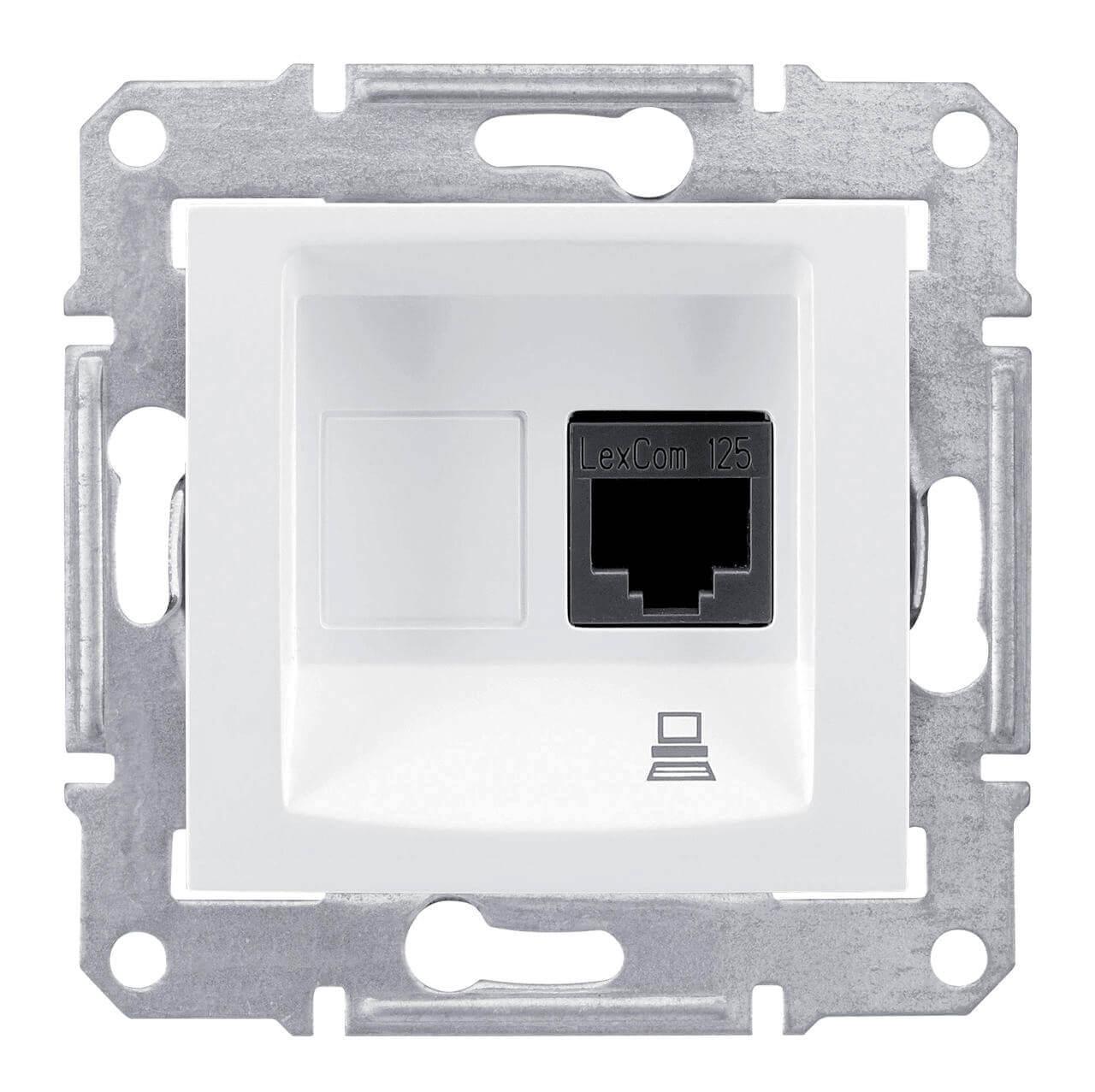 Розетка Schneider Electric SDN4700121 Sedna schneider se sedna графит tv sat розетка проходная 8db sdn3401270