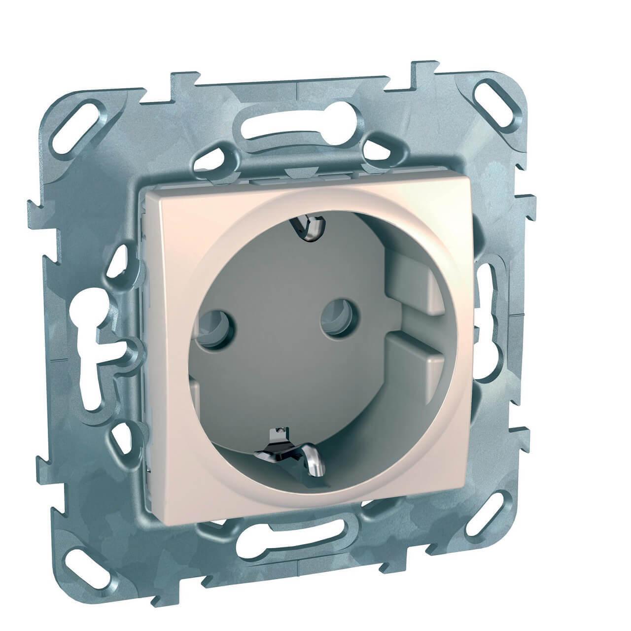Розетка Schneider Electric MGU5.057.25ZD Unica (Подходит под рамки Unica, Хамелеон, Quadro) розетка schneider electric mgu23 067 25d unica