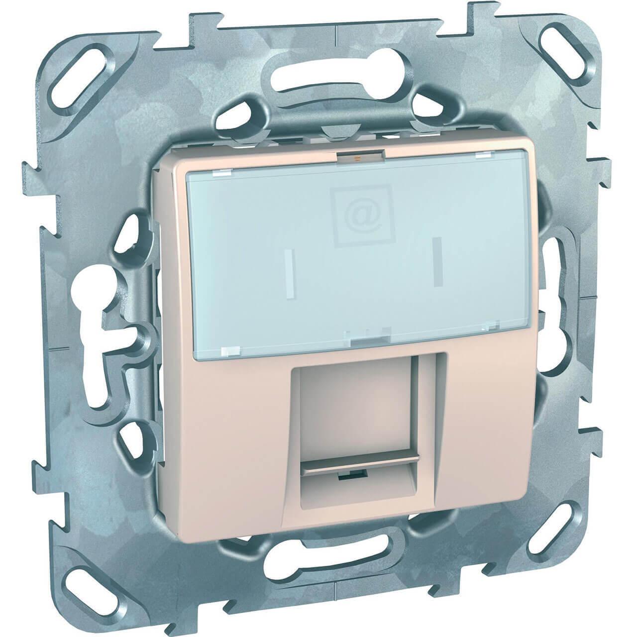 Розетка Schneider Electric MGU5.421.25ZD Unica (Подходит под рамки Unica, Хамелеон, Quadro) фото
