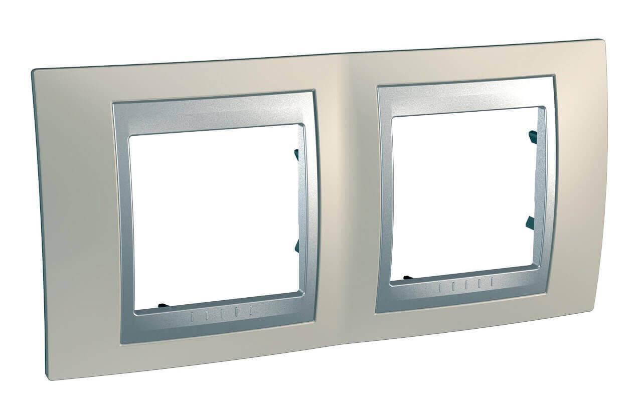 Рамка Schneider Electric MGU66.004.095 Unica Top (Подходит под механизмы Unica Top, Unica Class) рамка schneider electric mgu66 004 096 unica top подходит под механизмы unica top unica class