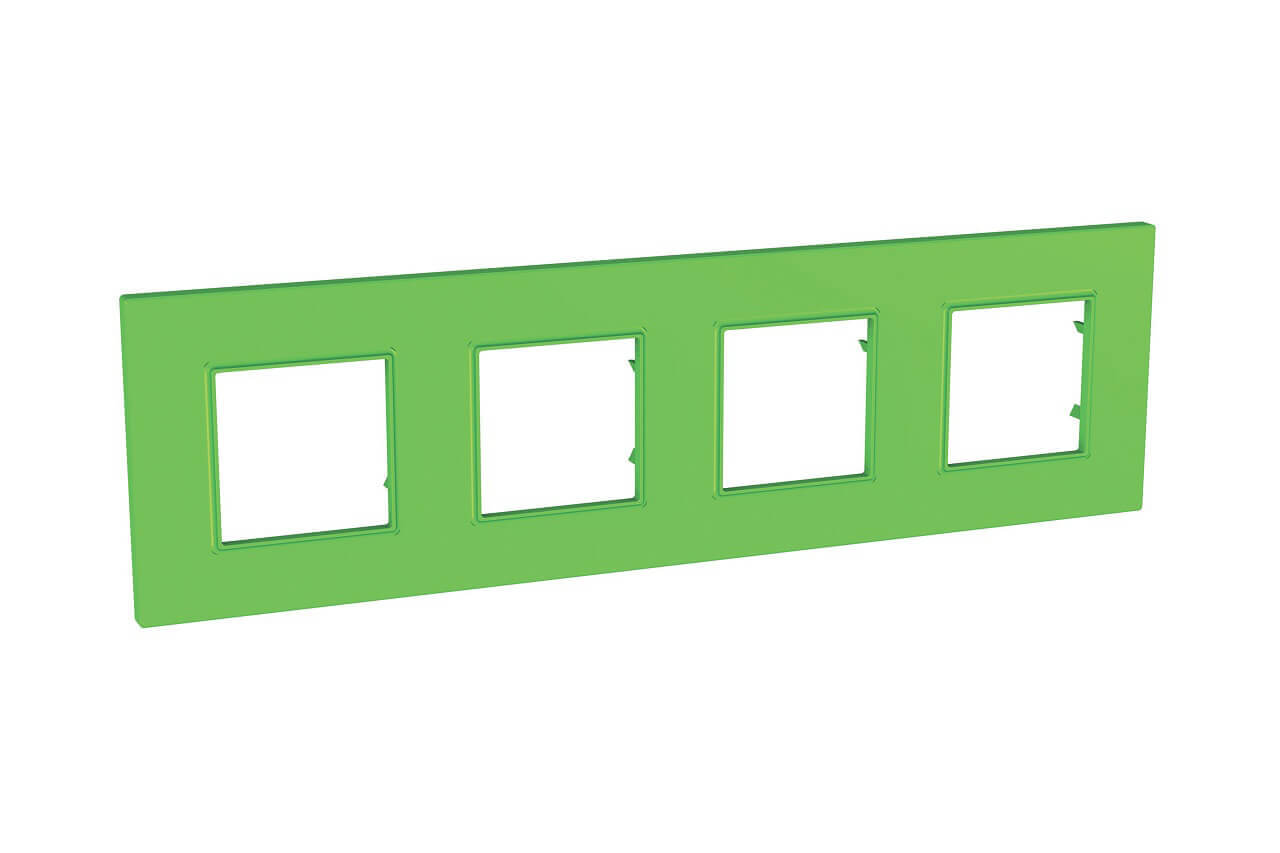 Рамка 4-постовая Schneider Electric Unica Quadro MGU4.708.28