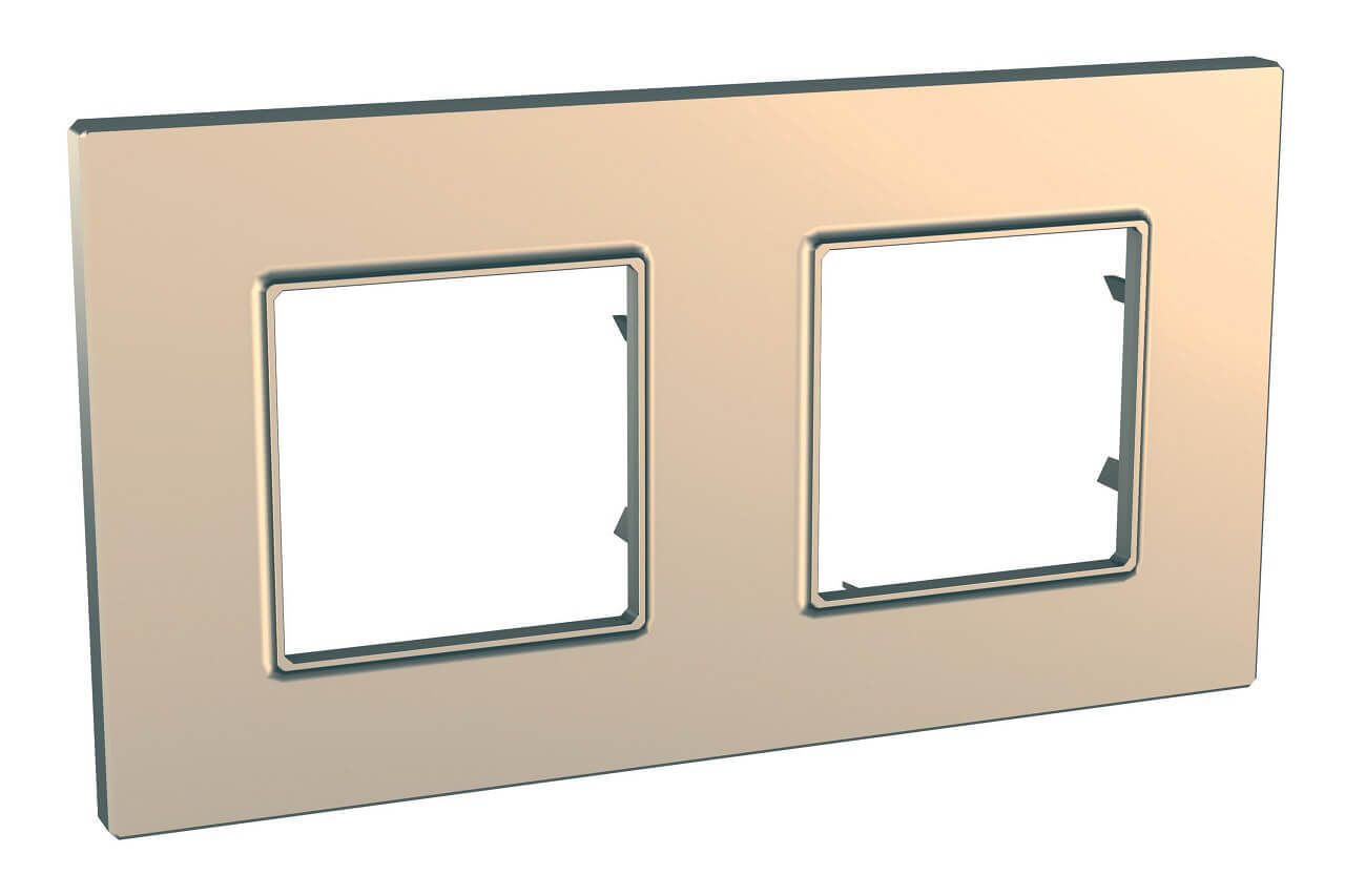 Рамка Schneider Electric MGU6.704.56 Unica Quadro (Подходит под механизмы Unica, Хамелеон, Quadro)