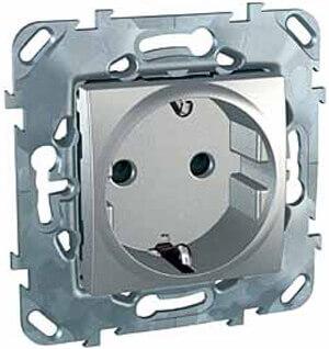 Розетка Schneider Electric MGU5.033.30ZD Unica Top (Подходит под рамки Top, Class)