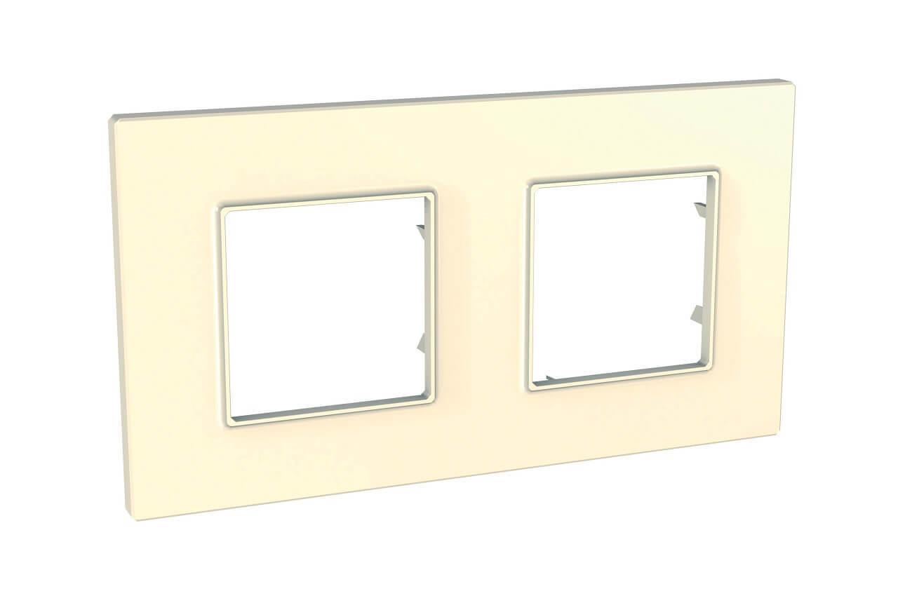 Рамка Schneider Electric MGU2.704.25 Unica Quadro (Подходит под механизмы Unica, Хамелеон, Quadro)