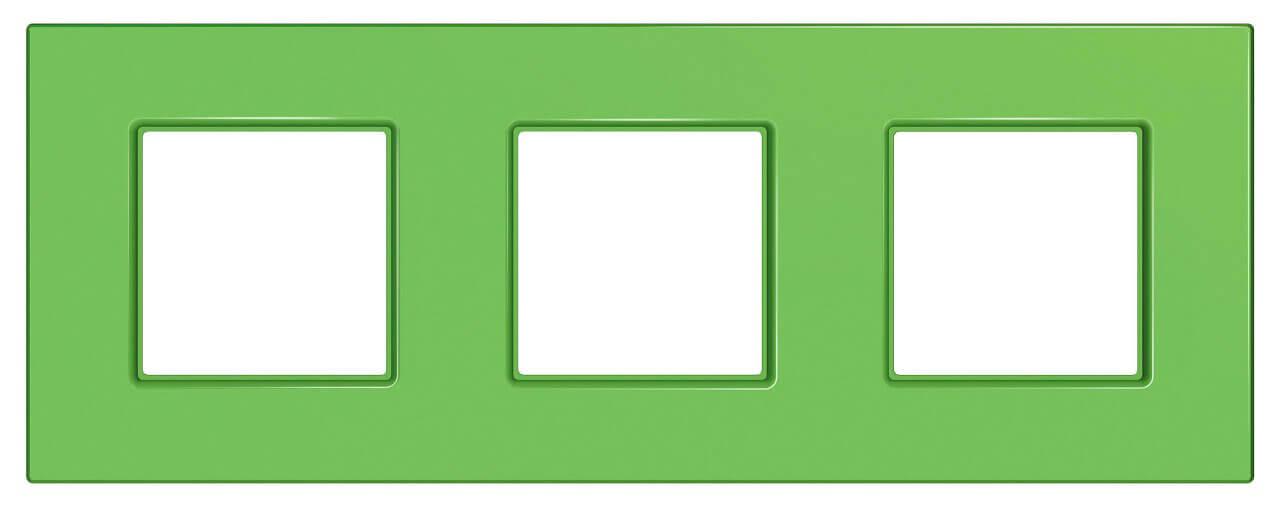 Рамка 3-постовая Schneider Electric Unica Quadro MGU4.706.28 рамка 2 пост киви schneider electric unica quadro mgu4 704 28