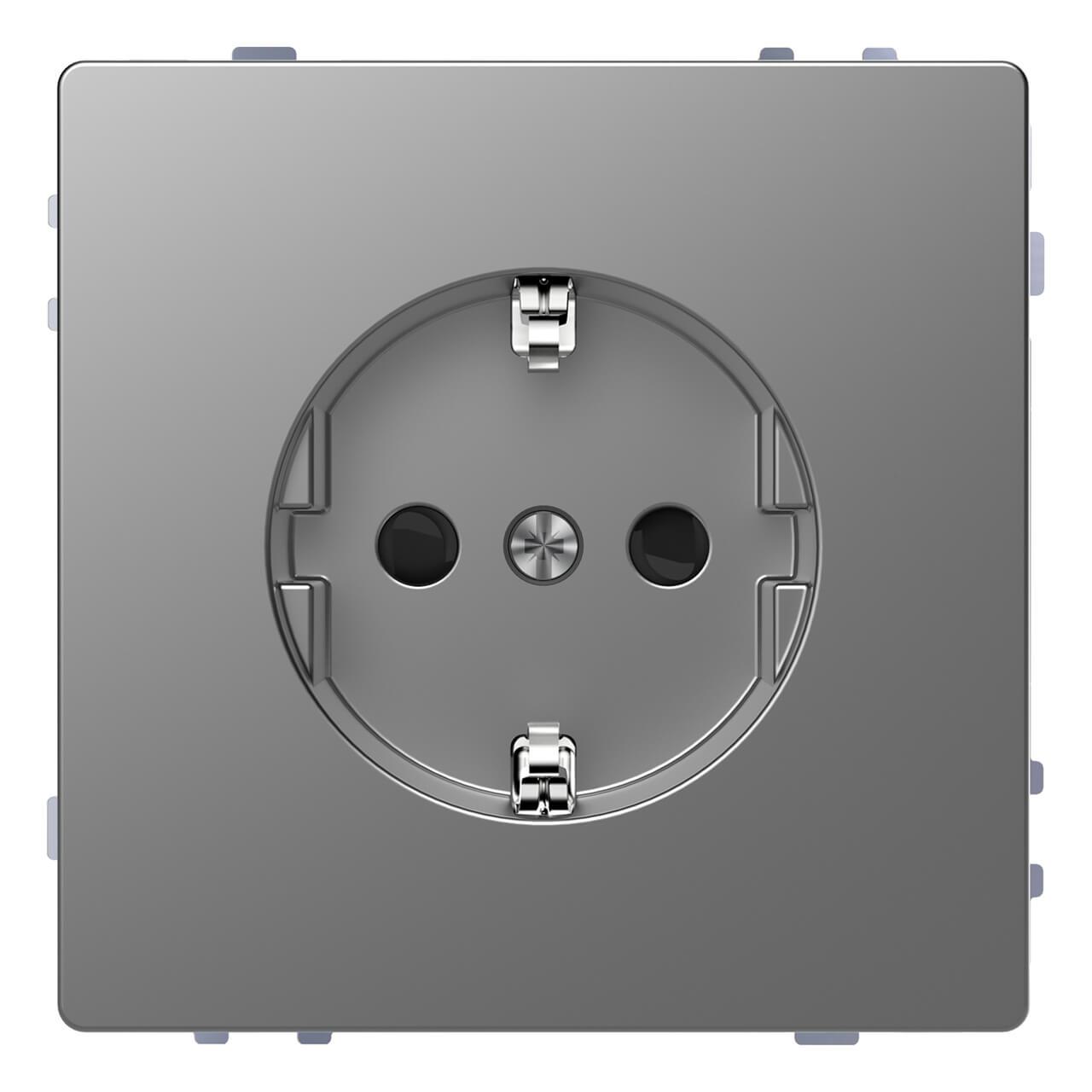 Фото - Розетка Schneider Electric MTN2300-6036 Merten D-Life розетка schneider electric merten system m с з и шторками mtn2300 0319