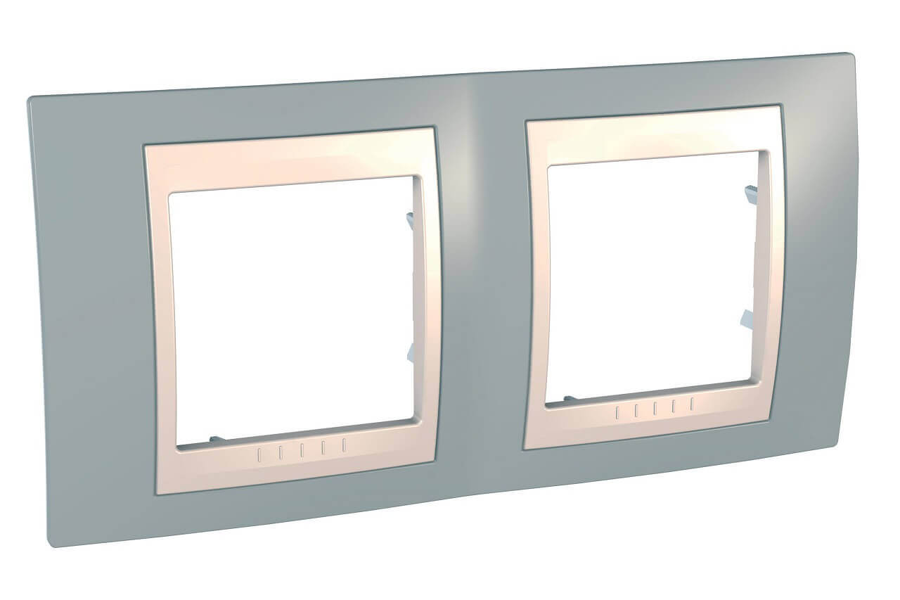 Рамка Schneider Electric MGU6.004.565 Unica Хамелеон (Подходит под механизмы Unica, Хамелеон, Quadro)
