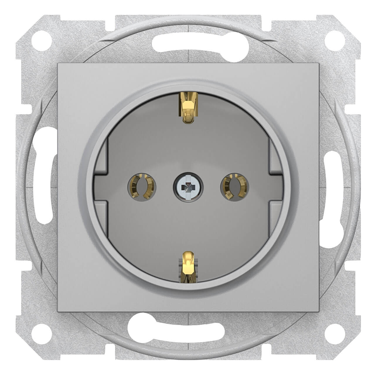 Розетка Schneider Electric Sedna с з/к без шторок 16A 250V SDN3001860