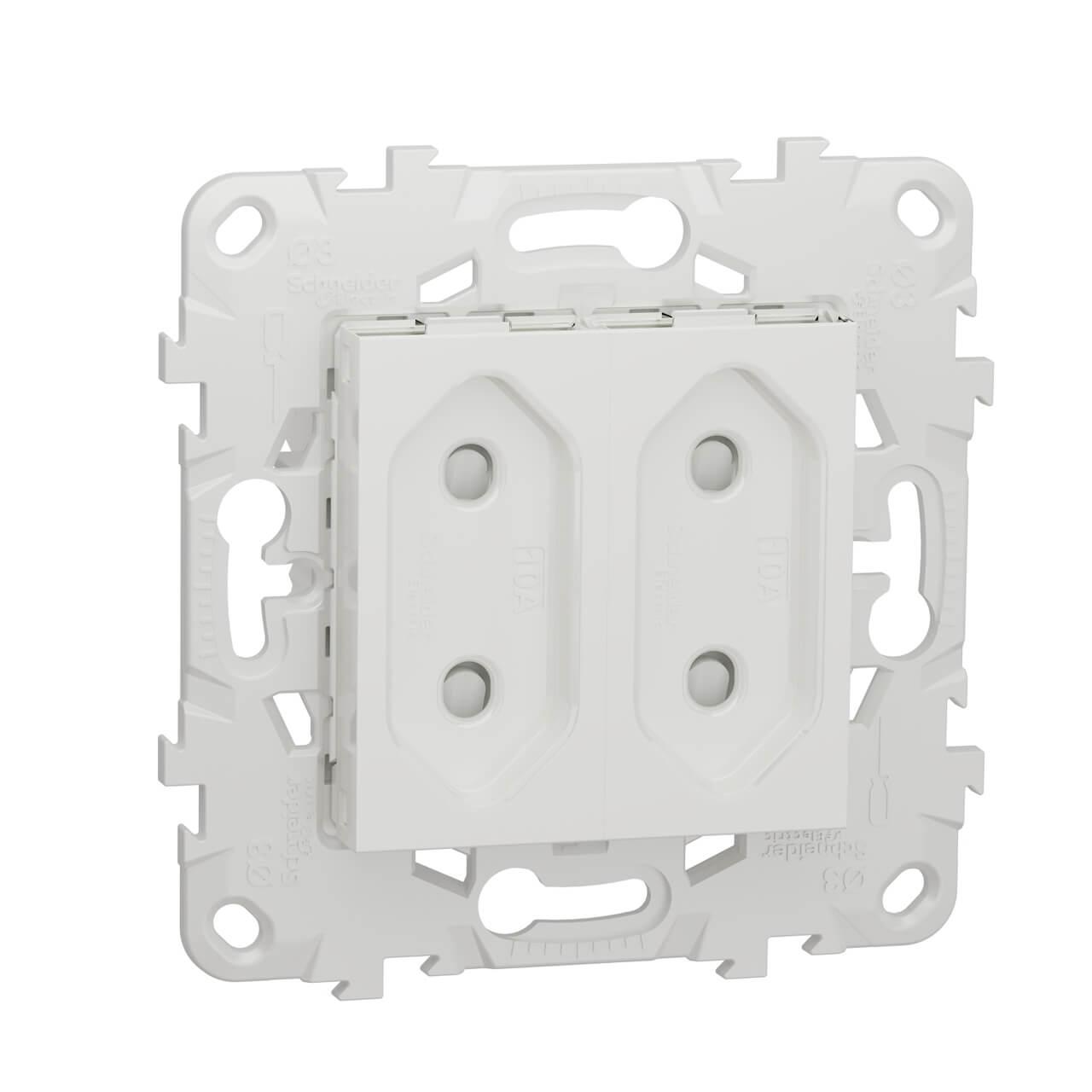 Розетка Schneider Electric NU503118 Unica New розетка schneider electric mgu23 067 25d unica
