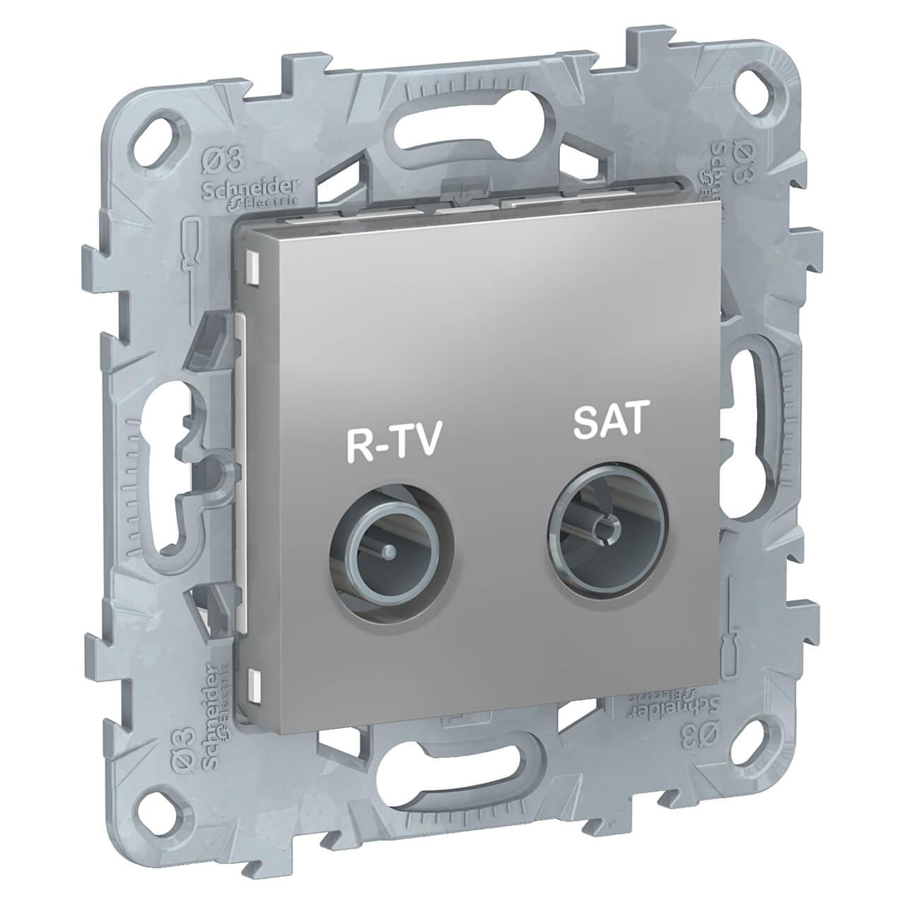 Розетка R-TV/SAT одиночная Schneider Electric Unica New NU545430