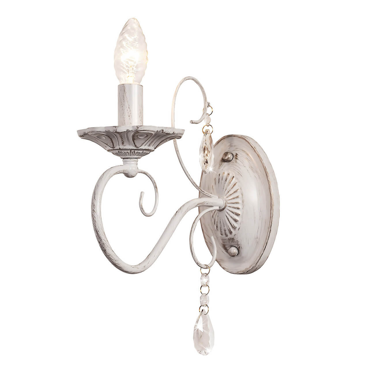 цена на Бра Silver Light 259.41.1 Laura White